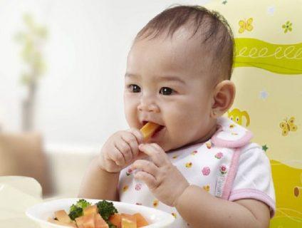 Bé 7 tháng tuổi ăn được gì?