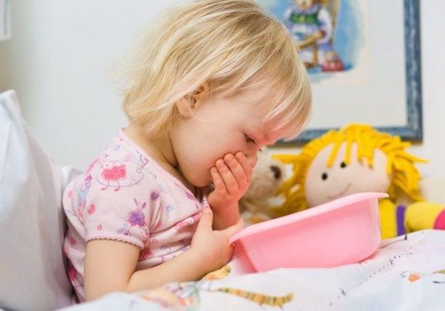 Trẻ bị nôn nhiều lần trong ngày