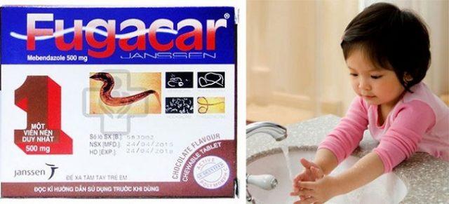 Thuốc tẩy giun kim cho trẻ em hiệu quả